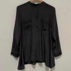 Eileen Fisher silk button down